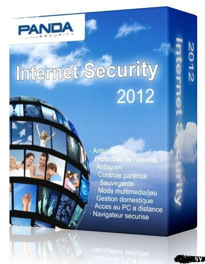 Panda Internet Security 2012, на 1 год, 3 users.